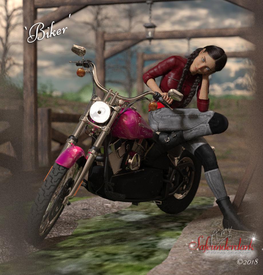 'Biker' art concept